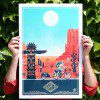 Art Print Easy Rider USA - Nevada