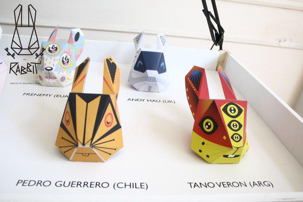 Proyecto Ensamble paper toy Mr Rabbit ladislas chachignot Mr Rabbit - Proyecto Ensamble 2016