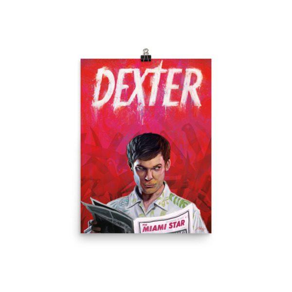Dexter Alternative Poster Illustration / Fine Art Print / Open edition