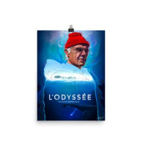 L'Odyssée – Alternative Movie Poster Illustration / Fine Art Print / open edition
