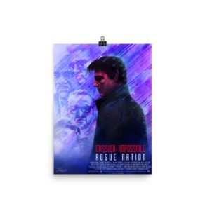 Mission Impossible Rogue Nation – Alternative Movie Poster Illustration / Fine Art Print / open edition