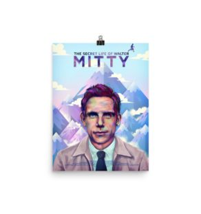 poster - The Secret Life Of Walter Mitty- illustration- ladislas