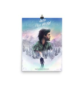 Into The Wild Alternative Movie Poster Illustration by Ladislas