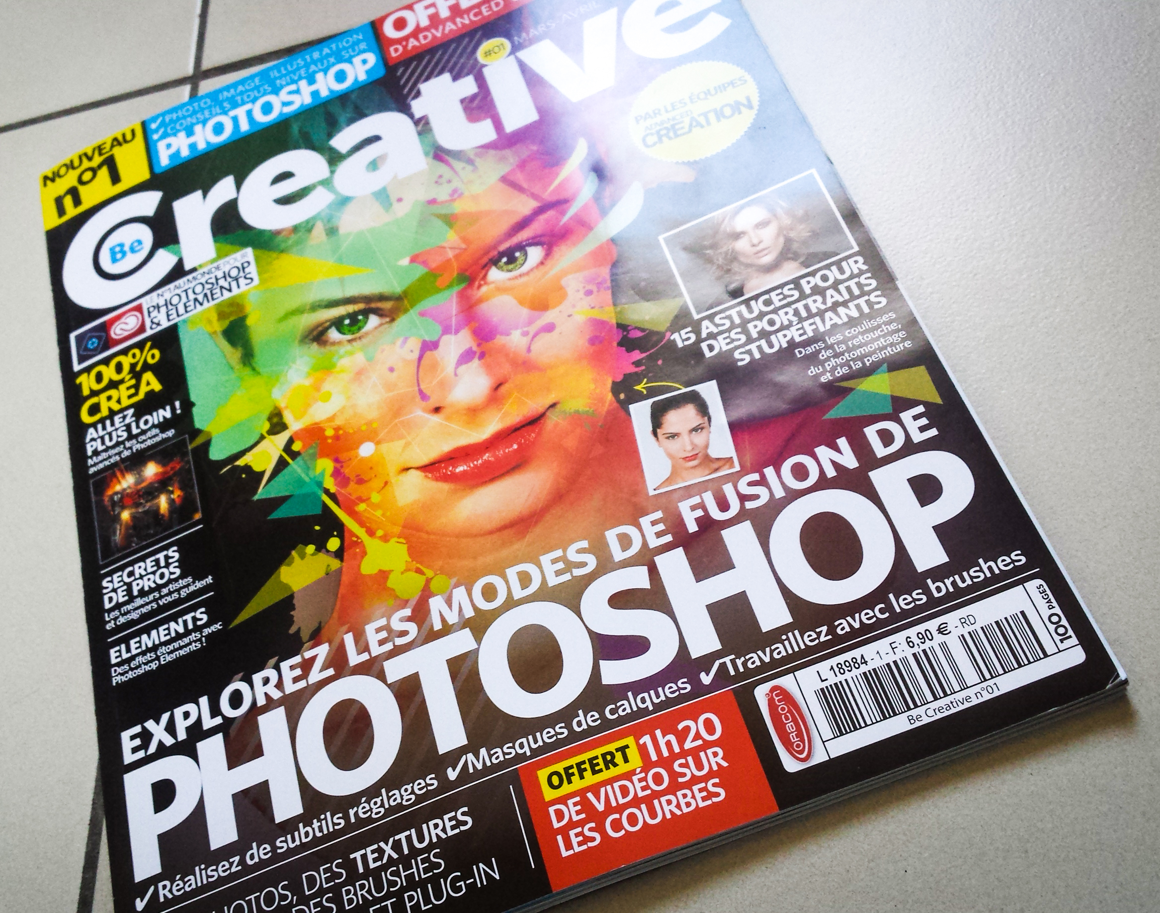 """Interview in the """"Oracom"""" magazine """"BeCreative N°1"""""""