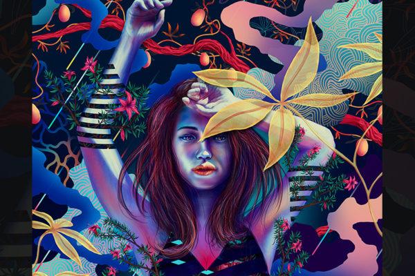 Amphora girl - Ladislas chachignot -digital painting- adobe create magazine - studio Sunday