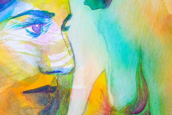 watercolor work in progress - Ladislas chachignot -digital painting- adobe create magazine - studio Sunday