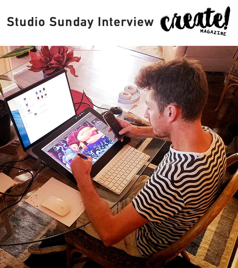 New Interview Studio Sunday on Adobe Create! magazine